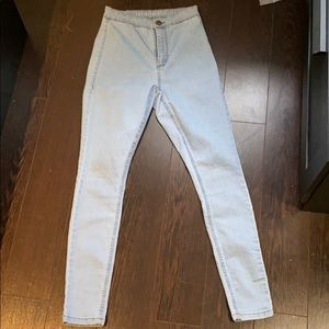 Cotton on High waisted Skinny Jeans